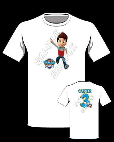 (Paw Patrol Ryder Personalized t-shirt #2)