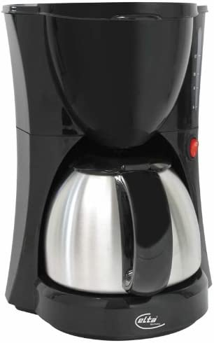 Elta km203 – Cafetera con jarra de acero inoxidable: Amazon.es: Hogar
