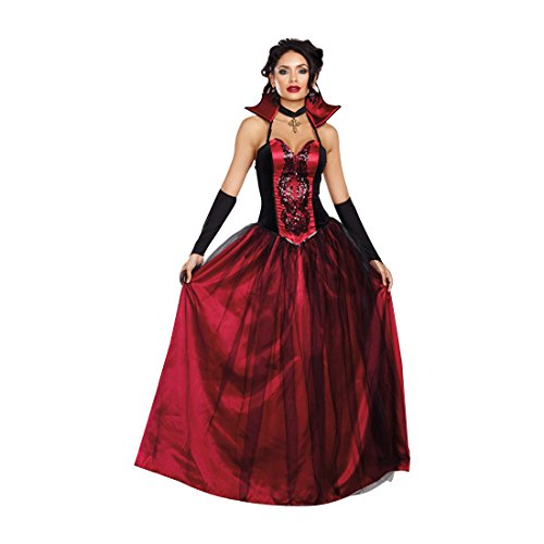 Dreamgirl Women's Bloody Beautiful Costume, Red/Black, (Beautiful Costumes)