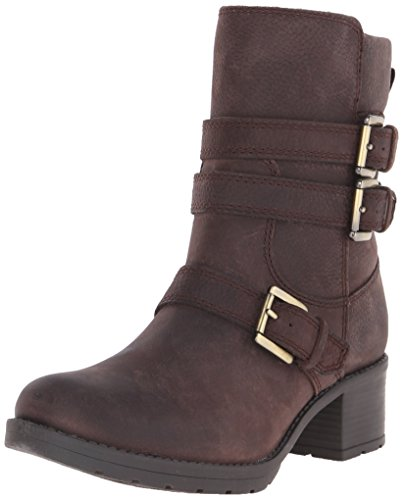 Rockport Mujer City Casuals Rola Buckle Boot Ebano Tumble