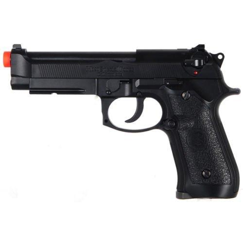 HFC M9 BERETTA BLOWBACK GREEN GAS METAL AIRSOFT HAND GUN PISTOL w/ 6mm BB BBs ()