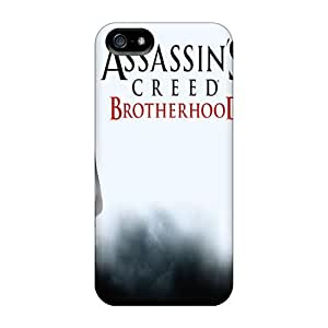 Flexible Tpu Back Case Cover For Iphone 5/5s - Assassins Creed