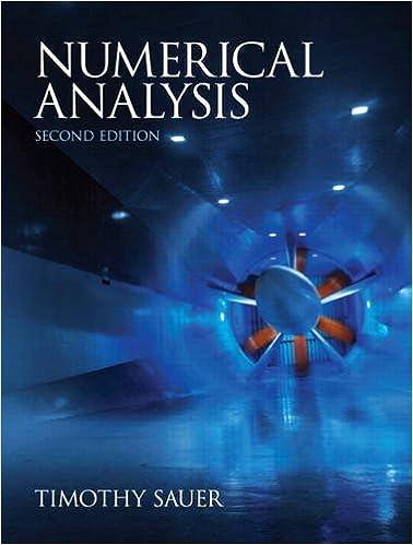 Sauer, numerical analysis. , 3rd edition | pearson.