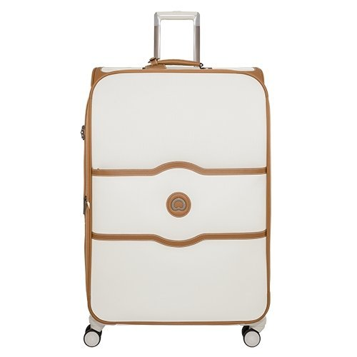 Delsey Luggage Chatelet Softside 30 Inch 4 Wheel Spinner, Champagne by DELSEY Paris