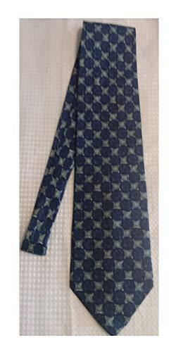- Stafford Executive Spotless Blue and Green Silk Necktie