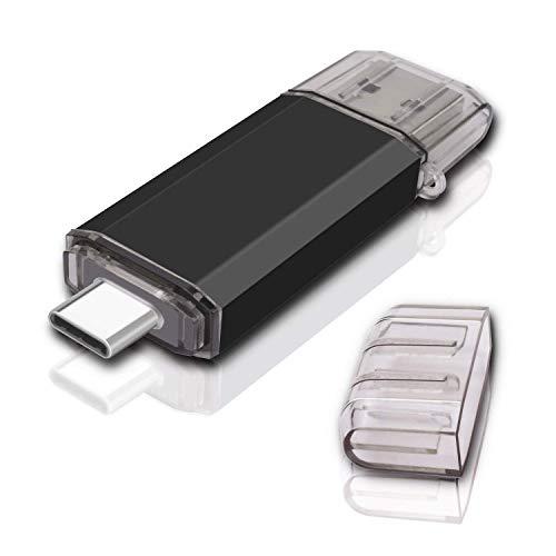 KEXIN 128GB Type C Flash Drive USB 3.0 Drive High Speed USB Dual Drive 2 in 1 OTG Jump Drive for USB-C Smartphones Tablets, New Macbook, Samsung Galaxy S8, S8 Plus, Note 8, LG G6, V30, Google Pixel XL