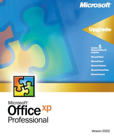 Microsoft Office XP Professional - Version upgrade packag...