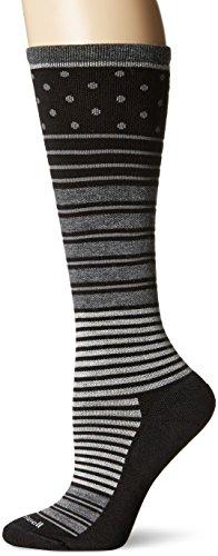 Sockwell Women's Twister Socks, Black, Medium/Large