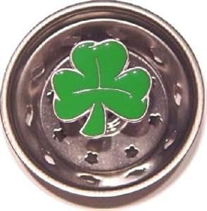 Lucky Irish Shamrock Sink Strainer Drain Kitchen Decor