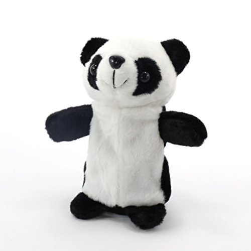 Talking Panda - Upgrade 2017 Newest, Repeats What You Say Plush Animal Electronic Pet Buddy Talking Hamster Unicorn Christmas Birthday Gift For Kids and Adults (7.1 Inches)