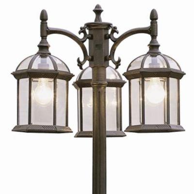 - Trans Globe Lighting 4189 RT Outdoor Wentworth Pole Light, 22