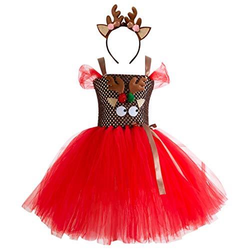 Disfraz Navidad Bebe Niña Fotografia Tutu Falda Corta + ...