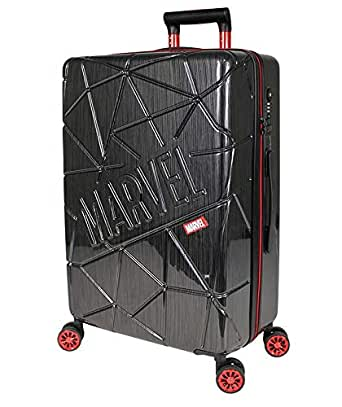 "Marvel - 19"" Small Carry On 4 Wheel Hardside Suitcase"