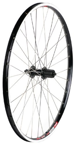 Sta Tru Black Shimano Deore M590 8-9-10 Speed Cassette Hub Rear Wheel (26X1.5-Inch) ()