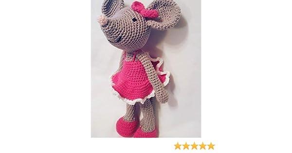Kit amigurumi Ella la ratita bailarina | Crochet y Amigurumis | 315x600