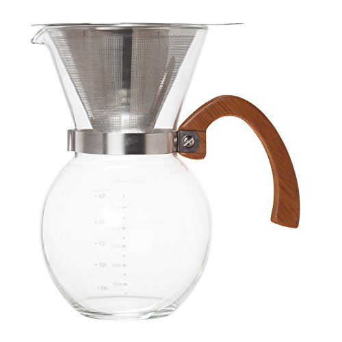 1eb449dbe90 Amazon.com  HIC Harold Import Co. 43781 HIC Pour-Over Coffee Maker Clear   Kitchen   Dining