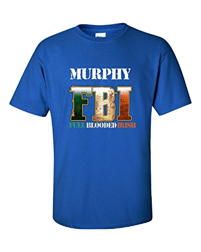 murphy-fbi-full-blooded-irish-funny-st-patricks-day-adult-shirt-m-royal