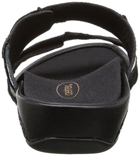 Sandalo Da Donna Rebecca Atrex Da Donna Nero