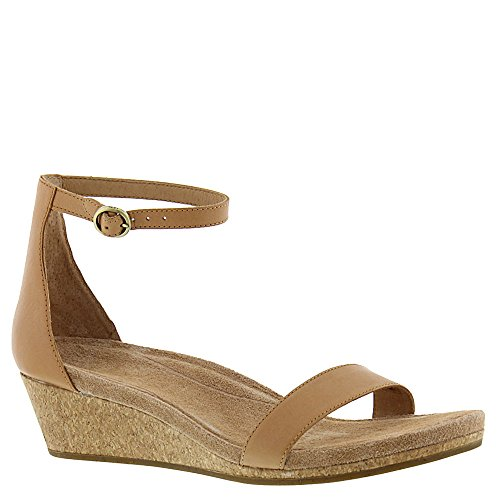 UGG Women's Emilia Wedge Sandal, Natural - Ugg Suede Wedges Shopping Results