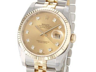watch 76858 cfc10 Amazon   [ロレックス]Rolex デイトジャスト メンズ 116233G ...