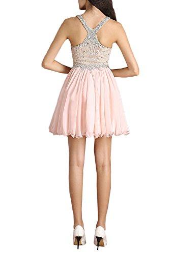 Ivydressing Kurz Strass Partykleid Cocktailkleider Ausschnitt Traeger Ballkleid Abendkleider Damen Lavendel Suess V 4fw4qv