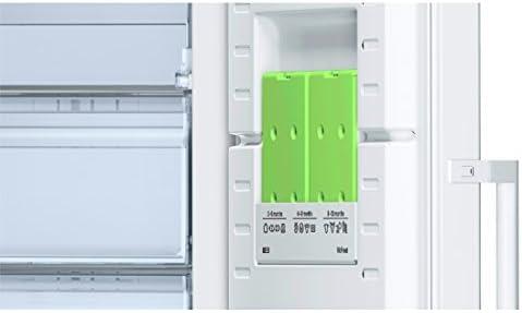 Vertical, 225 L, 42 dB, Sistema de descongelado, A++, Blanco Bosch Serie 4 GSN33VW3P Congelador