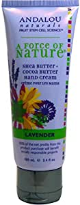 Andalou Naturals, A Force of Nature, Hand Cream, Lavender, 3.4 fl oz (100 ml)