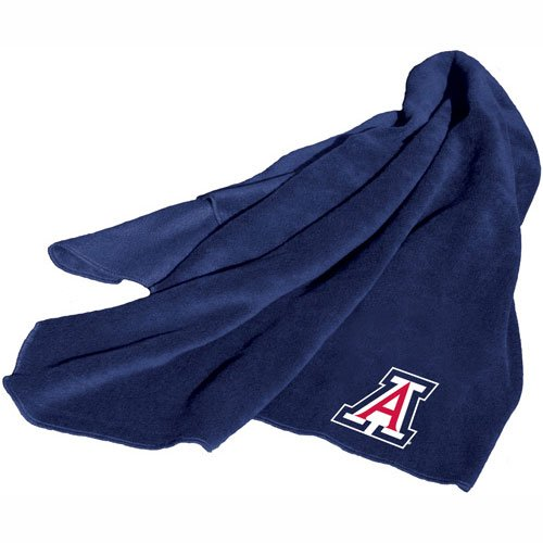 Arizona Wildcats Official NCAA 50 inch x 60 inch Fleece Throw Blanket (Arizona Wildcats Fleece Throw)