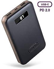 imuto 10000mAh PD2.0 Power Bank with LCD Display