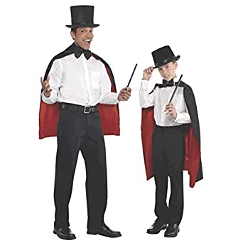 fb85c96c624 CHILDRENS BLACK TOP HAT VICTORIAN OLD ENGLAND MAGICIAN PERFECT FOR ANY FANCY  DRESS PARTY FOR BOYS