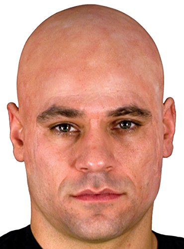 [Woochie by Cinema Secrets Bald Cap Beige, Multi, One Size] (High Quality Costumes For Sale)