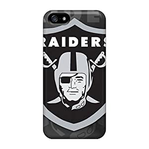 Hot Snap-on Oakland Raiders Hard Cover Case/ Protective Case For Iphone 5/5s