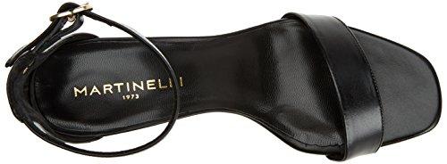 Black Sandali Cinturino 1354 Donna black Martinelli Caviglia 5065n Con Freyre Nero Alla AwtXPqOx