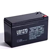 Ultra Tech UT-1270 12V 7Ah Alarm Battery - This is an AJC Brand® Replacement