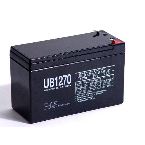 Ultra Tech UT-1270 12V 7Ah Alarm Battery - This is an AJC Brand Replacement AJC Battery