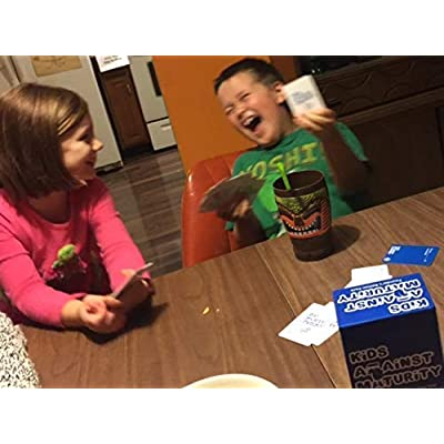 Kids Against Maturity: Card Game for Kids and Humanity, Super Fun Hilarious for Family Party Game Night, Combo Pack with Expansion #1: Toys & Games