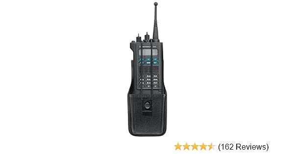 Bianchi Patroltek 8014S Black Universal Radio Case with Swivel