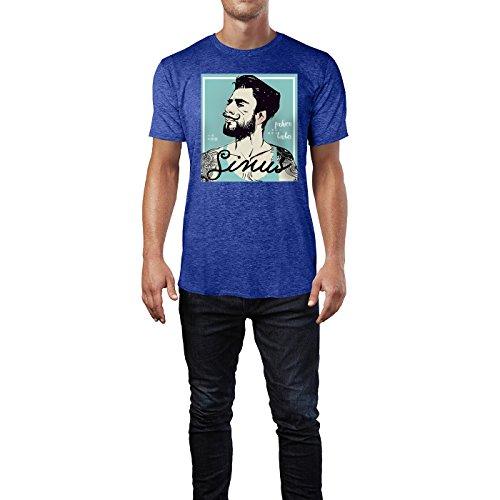SINUS ART ® Hipster Mann