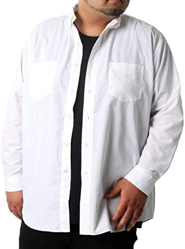 シャツ メンズ 大きいサイズ 無地 長袖シャツ Tシャツ セット アンサンブル