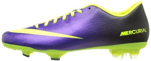 Nike Mercurial Victory IV FG Fussballschuhe electro purple-volt-black - 45 zdX5JQ