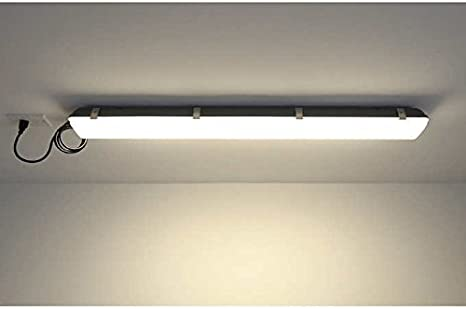 45 Led Utility Light With Motion Sensor 4000k 3800 Lumins Led Bulbs Amazon Canada