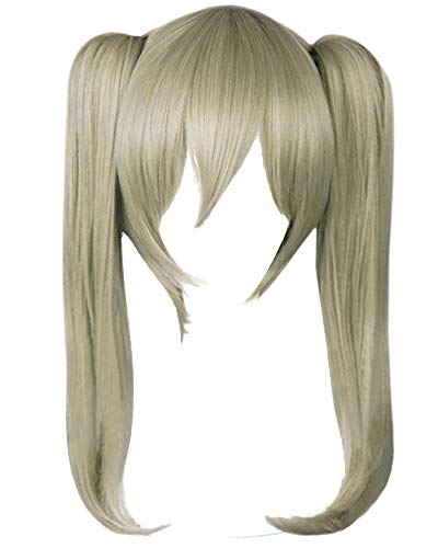 (DAZCOS Maka Albarn Flaxen Light Brown Cosplay Wig)
