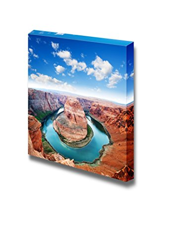Beautiful Scenery Landscape of Horse Shoe Bend Located in North Rim Grand Canyon Page Arizona Wall Decor ation