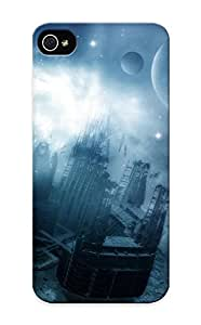 Christmas Gift - Tpu Case Cover For Iphone 5/5s Strong Protect Case - Space Station Design