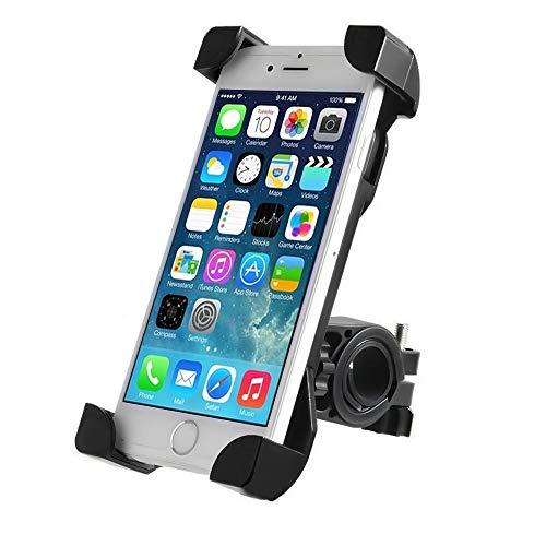 Annabeljing Bike Phone Mount Bike Accessories, Bike Phone Holder, 360°Rotation Bike Phone Mount Fits Universal iPhone Android Smartphones, GPS, etc. (Black)