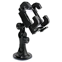 DURAGADGET Adjustable Car Windscreen Suction Mount For LeapFrog Chat & Count Phone