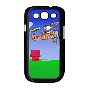Samsung Galaxy S3 9300 Cell Phone Case Black Snoopy 6 VIU003280