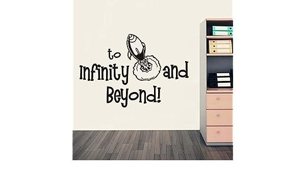 Cohete de dibujos animados hasta el infinito y el más allá Vinilo ...