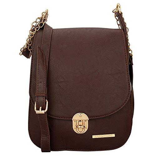 O Cocoa Sling Bag marrone Borsa Lupo multipresa Brown Women Lapis q6wIUEvdq