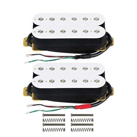 FidgetGear - Juego de pastillas de guitarra eléctrica de color ...